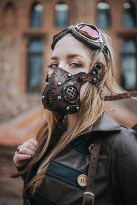 Post Apocalyptic Leather Mask