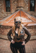 Load image into Gallery viewer, Post Apocalyptic Leather Mask
