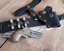 Load image into Gallery viewer, Steampunk Derringer Garter Holster.