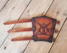 Load image into Gallery viewer, Deathly Hallows Bracer.