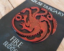 Load image into Gallery viewer, Targaryen House, wood sign.