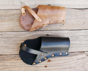 Pepperbox Pistol leather Holster.