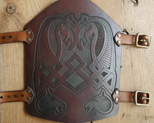 Load image into Gallery viewer, Rohirrim horses engraved Bracer.