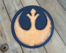Load image into Gallery viewer, STAR WARS RESISTANCE logo. Wood Sign.
