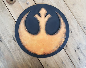 STAR WARS RESISTANCE logo. Wood Sign.