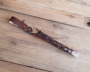 Wand Holster laced.