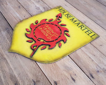 Load image into Gallery viewer, Martell House, sigil of Game of Thrones. Wood Sign.