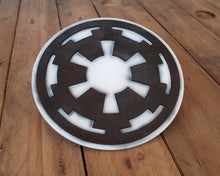 Load image into Gallery viewer, STAR WARS Galactic Empire logo. Wood Sign.