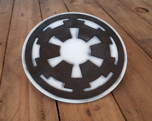STAR WARS Galactic Empire logo. Wood Sign.