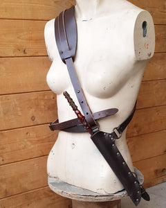 Wand shoulder and waist Holster.