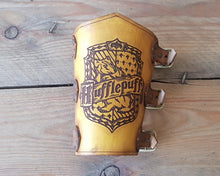 Load image into Gallery viewer, Hufflepuff bracer.