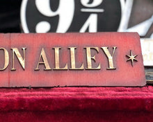 Load image into Gallery viewer, Diagon Alley Wood Sign.
