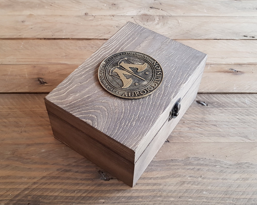 Harry Potter AUROR DIVISION Potions box.
