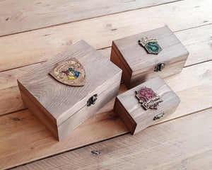 Wood Potions box House GRYFFINDOR.