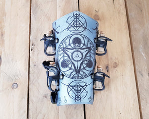 Alchemist bracer with Magic Triangle.