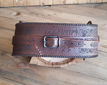 Load image into Gallery viewer, Barbarian Belt Leather.