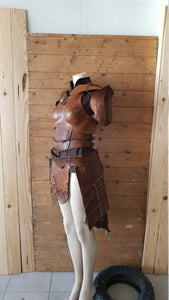 Earth Ranger Rogue Leather armor set.