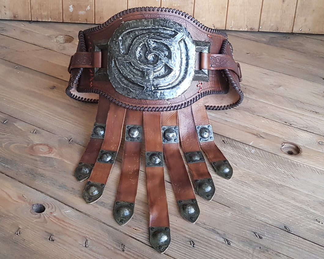Barbarian Belt Leather.
