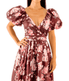 Ida Dress - Burgundy - Lady Jetset