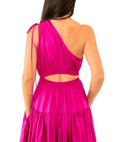 Nari One Shoulder Gown - Lady Jetset