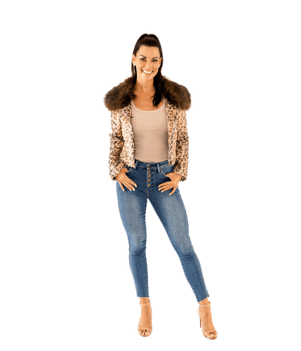 Serpentina Cropped Snake Jacket - Lady Jetset