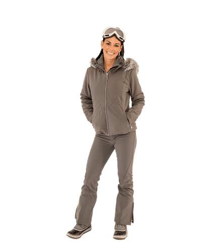 Betty Ski Pant - Pewter - Lady Jetset