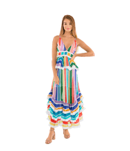 Load image into Gallery viewer, Mirage Multicolor Cami Dress - Lady Jetset