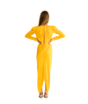 Astrid Yellow Dress - Lady Jetset