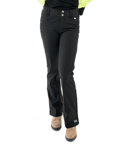 Betty Ski Pant - Black - Lady Jetset