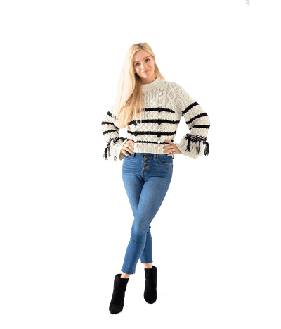 Mariner Striped Sweater - Lady Jetset
