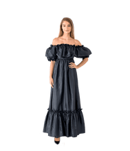 Load image into Gallery viewer, Tara Puff Shoulder Maxi Dress - Lady Jetset