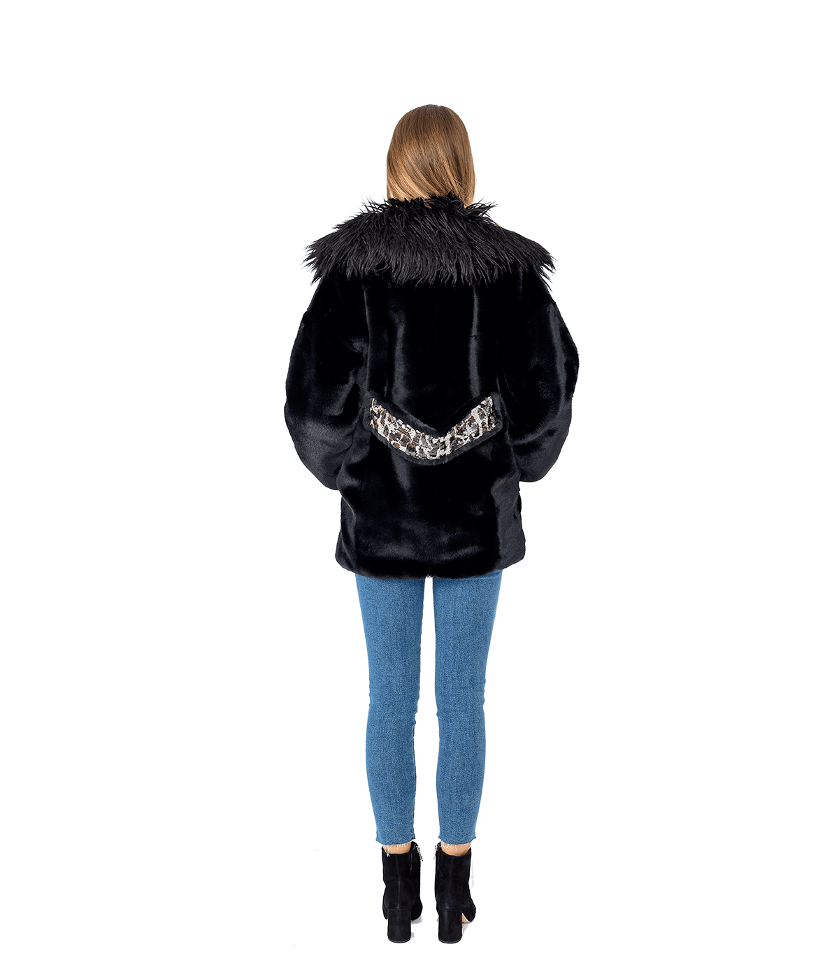 Stuntin' Faux Fur Coat - Lady Jetset