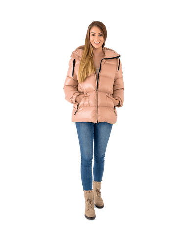 Molly Hooded Puffer - Lady Jetset