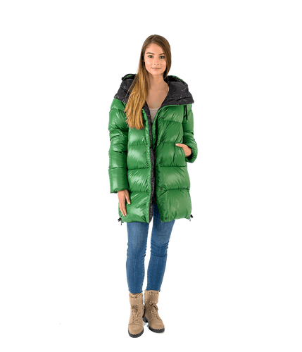 Kiruna Long Hooded Puffer - Lady Jetset
