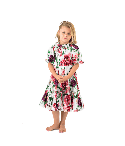 FINAL SALE Mommy & Me Peony Print Dress - Lady Jetset