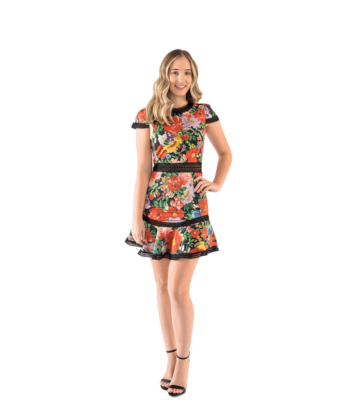 Rapunzel Dress - Blooming Garden - Lady Jetset