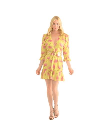 Wild Flower Dress - Lady Jetset