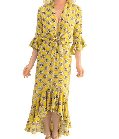 Exotic Passion Print Dress - Lady Jetset