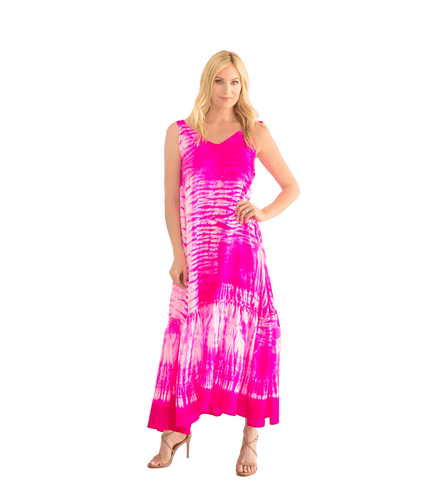 Tie Dye Beach Dress - Lady Jetset