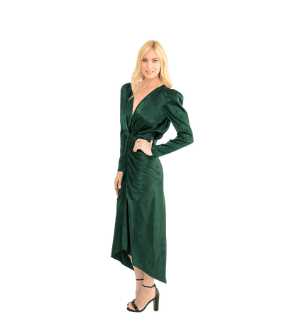 Astrid Dress - Evergreen - Lady Jetset