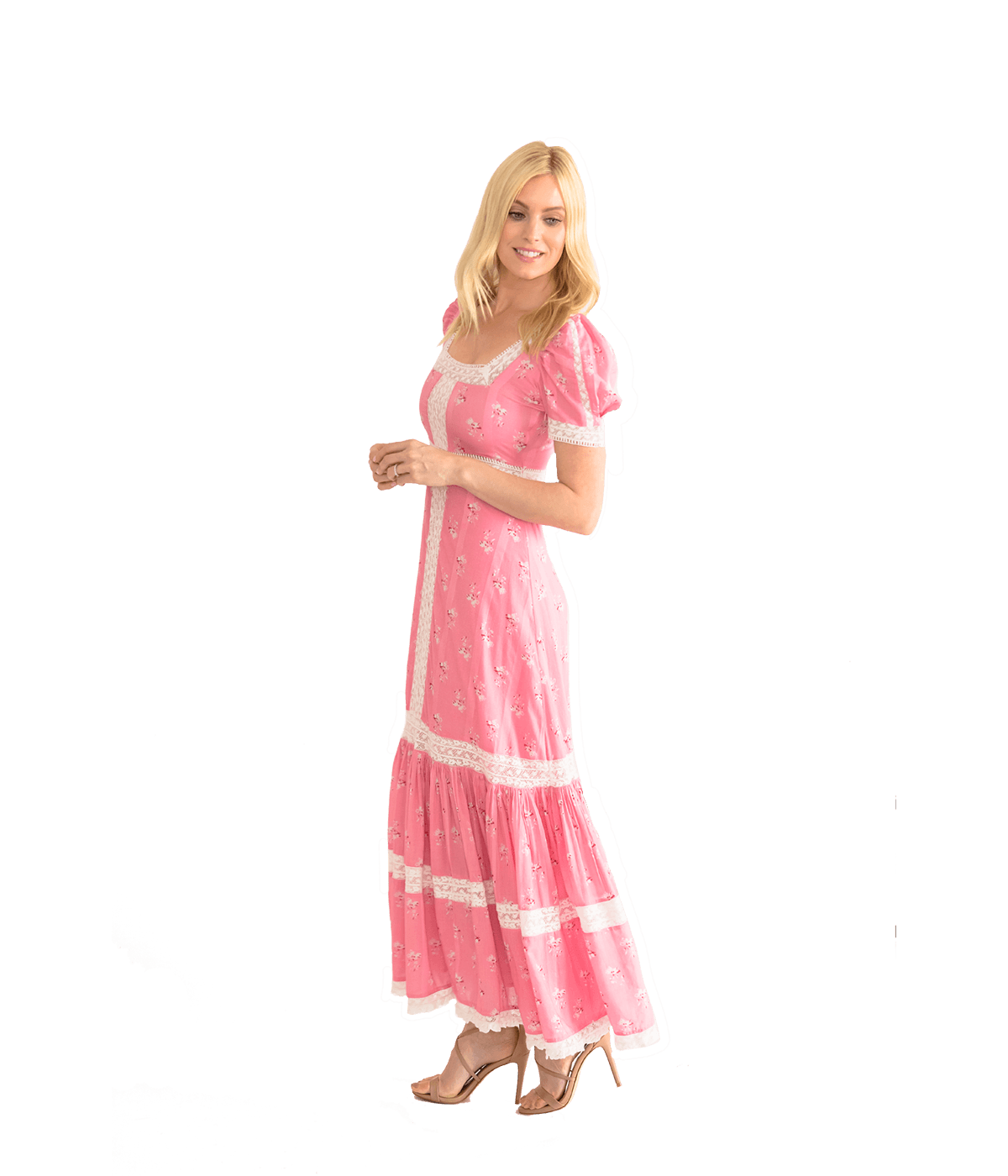 Ryan Dress - Pink Jam - Lady Jetset