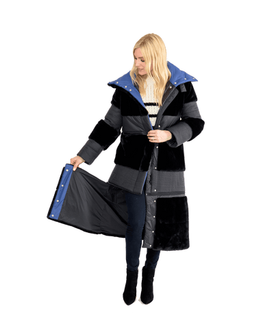WIFI Long and Short Coat - Lady Jetset