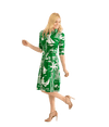 Audrey Dress - Cote D'Azur Print - Lady Jetset
