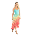 Tiered Pastel Dress - Lady Jetset