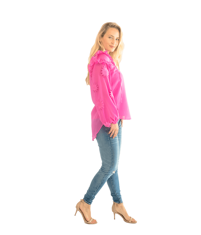 FINAL SALE Vicki Blouse - Lady Jetset