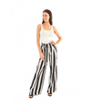 FINAL SALE Luke Striped Palazzo Pant - Lady Jetset
