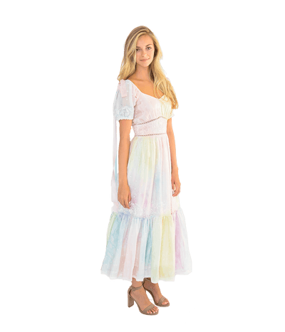 Angie Dress - Tie Dye - Lady Jetset