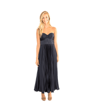 Load image into Gallery viewer, Belle Pleated Strapless Gown - Lady Jetset