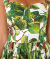 Fig Print Bustier Dress - Lady Jetset