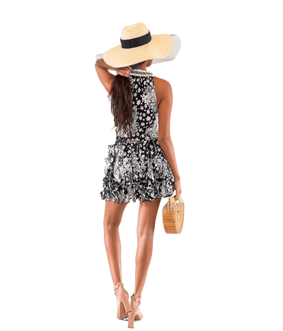 Black Beline Dress - Lady Jetset